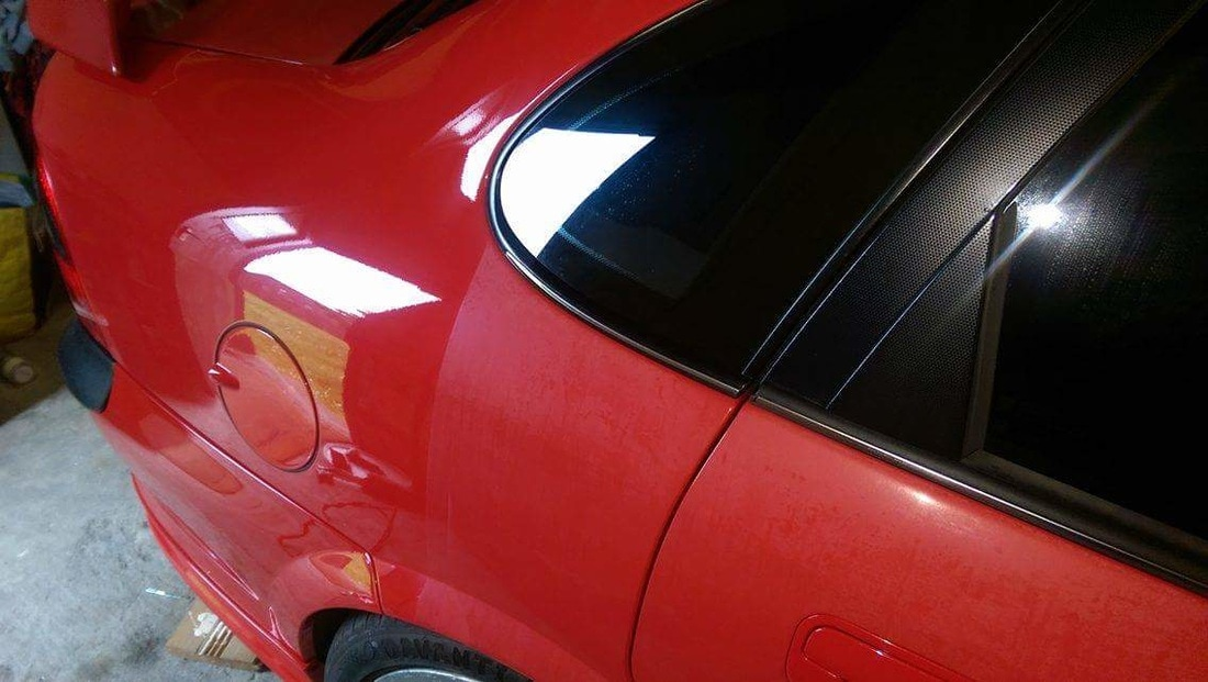 Paint Correction Paisley - Vauxhall Vectra GSi