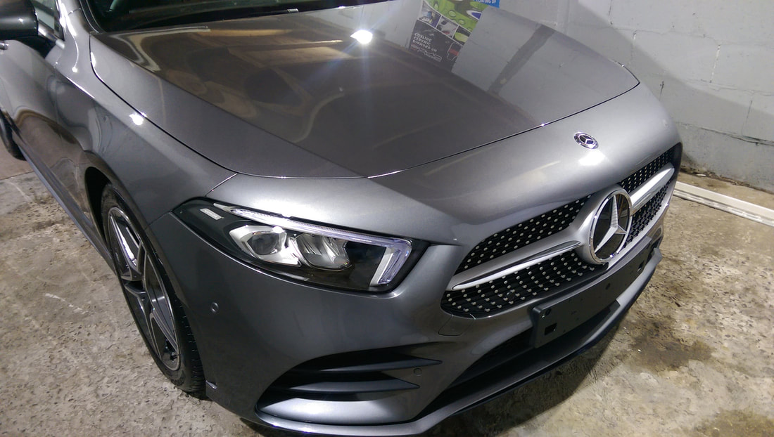 Mercedes Paint Protection