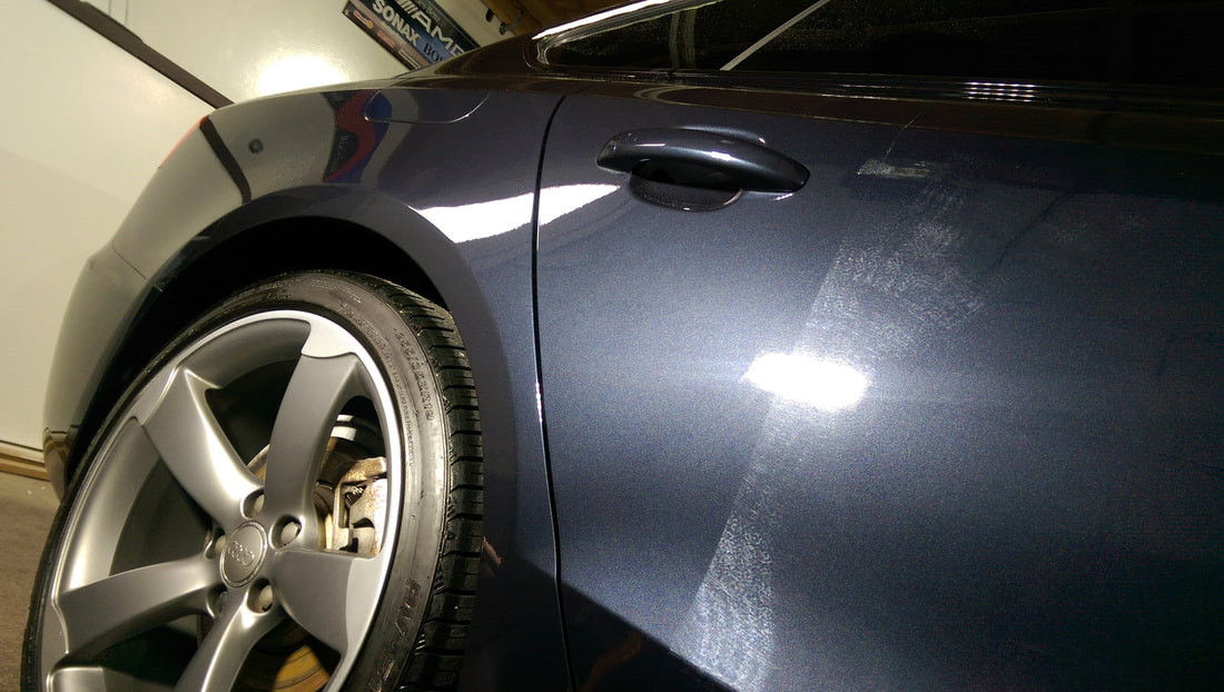Stage Two Paint Correction Detail