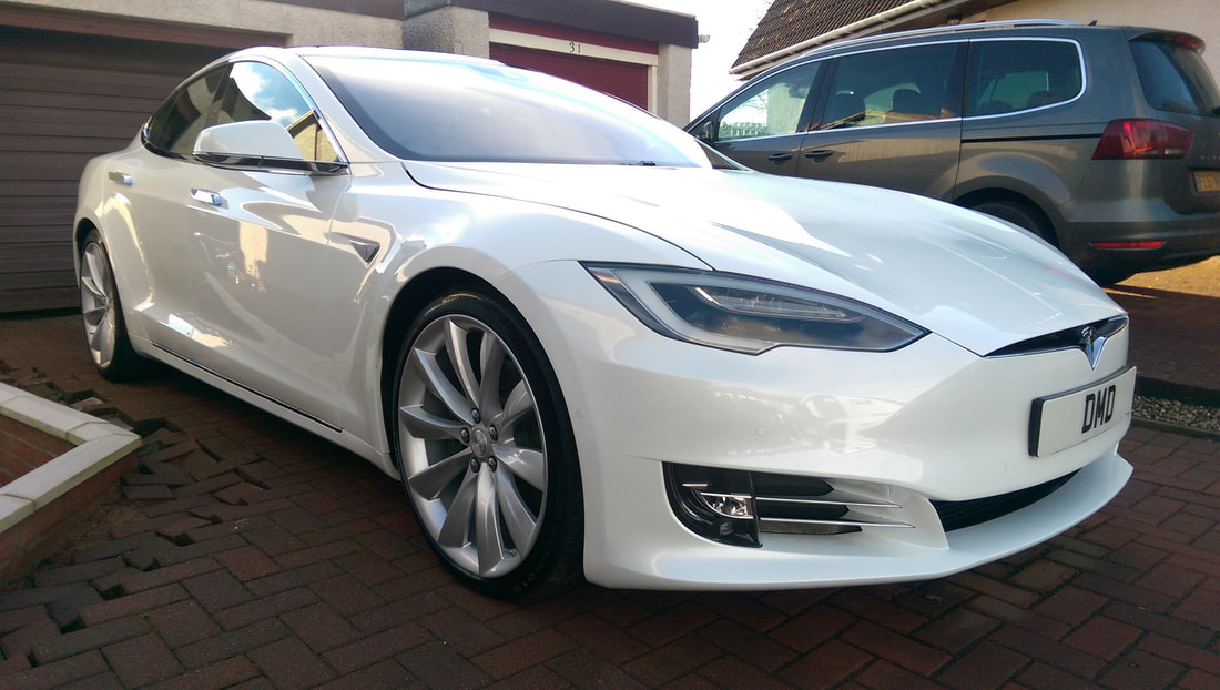 Tesla Ceramic Coating Paint Protection Treatments
